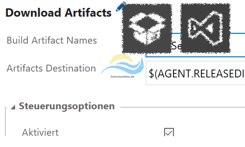 TFS Release Download Artifacts